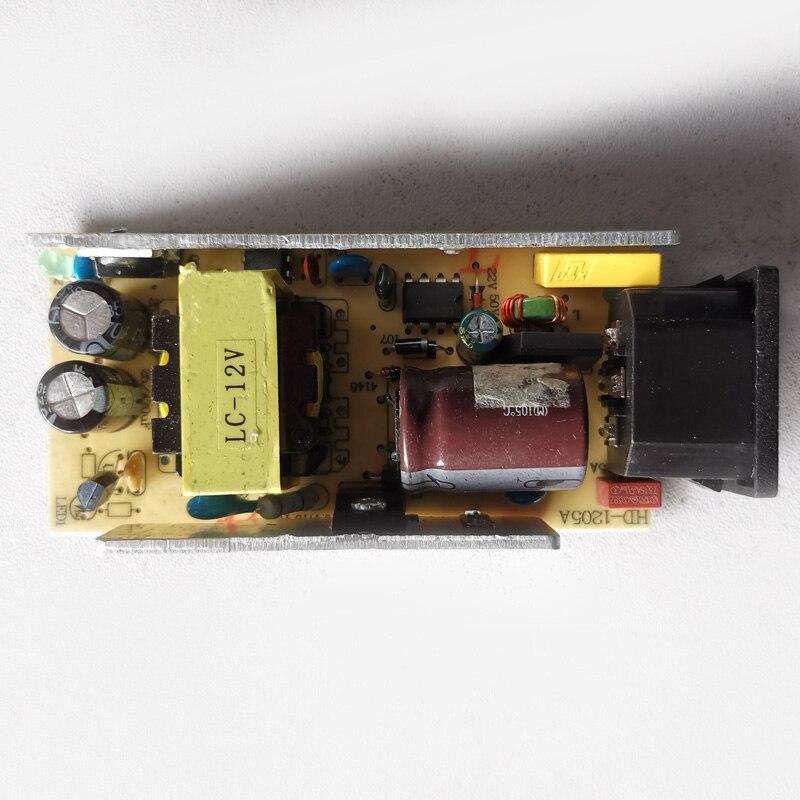 Купить с кэшбэком AC-DC 12V 5A Switching Power Supply Circuit Module 5000MA Original Bare Board  For LCD Monitor 100-240V 50-60Hz Power Board