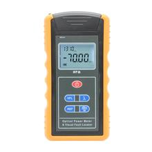 Optische Power Meter Handheld VFL Power Meter FTTH Fiber Optische Netwerk Kabel Tester w/10 MW Fiber Optic Visual fault Locator(China)