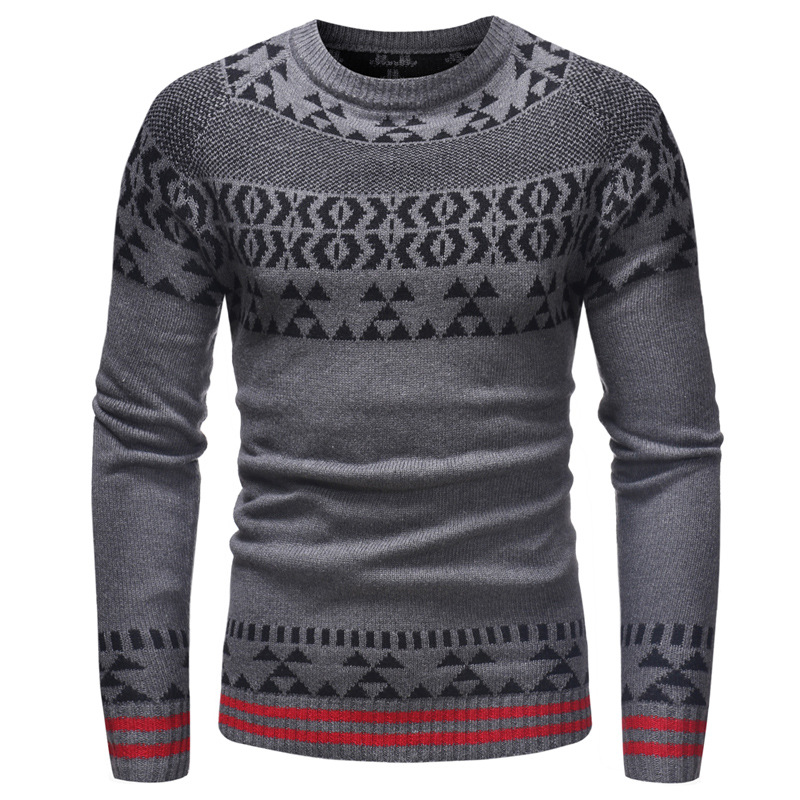 Men's Sweater, Autumn And Winter Clothing, Men's Blouse, Sweater Men, Warm Winter Clothes Men's Clothing. Plus Size Sweater