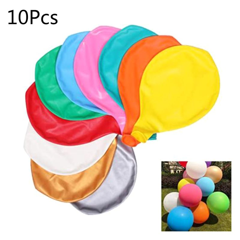 10pcs 36 Inch Giant Balloon Round Inflable Latex Jumbo Thick Balloons Wedding Party Decoration