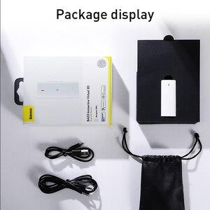 Image 5 - Baseus & Bongiovi Bluetooth מקלט 5.0 תמיכת מיקרופון 3.5mm AUX Bluetooth מתאם aptX DPS 3D סטריאו קול חי אפקט