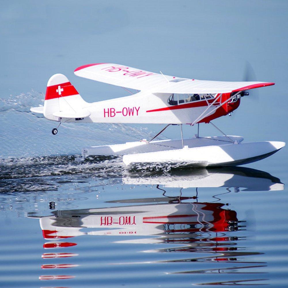 Электрический для дистанционно управляемого летательного аппарата J-3 CUB V3 1400mm размах крыльев приводимого в движение с помощью электроприво...