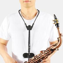 Adjustable Alto Tenor Saxophone Neck Shoulder Strap Belt Sax Harness Transfers Musical Instruments Parts Accessories