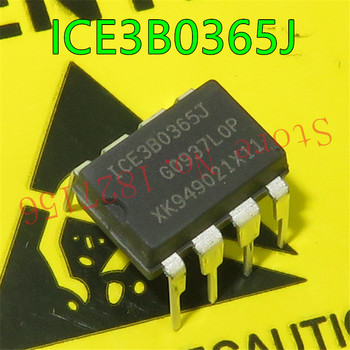 1PCS/LOT 3B0365J ICE3B0365J DIP8 integrated circuit Off-Line SMPS Cur rent Mode Controller with integrated 650V image