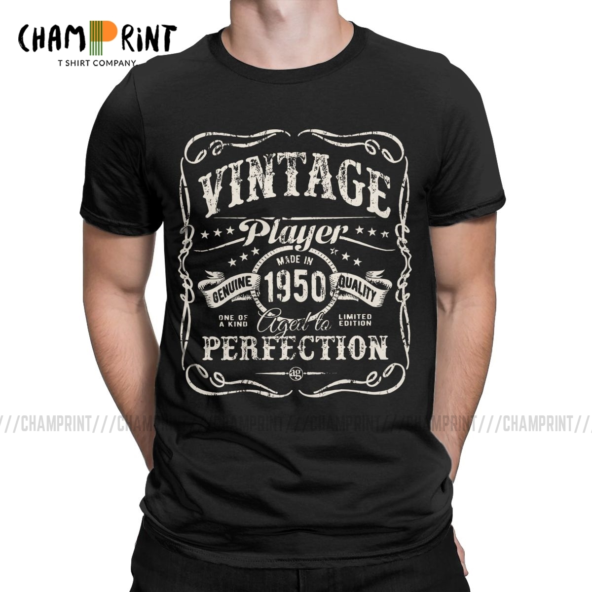 Men's T-<font><b>Shirts</b></font> Vintage Made In 1950 Casual Tees <font><b>70</b></font> Yeas Old 70th <font><b>Birthday</b></font> Gift T <font><b>Shirt</b></font> Crewneck Clothing Classic image