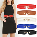 PU Leder Elastischen Breiten Gürtel für Frauen Stretch Starke Taille Gürtel für Kleid Mode Stretch Frauen Gürtel Plus Größe Drop verschiffen