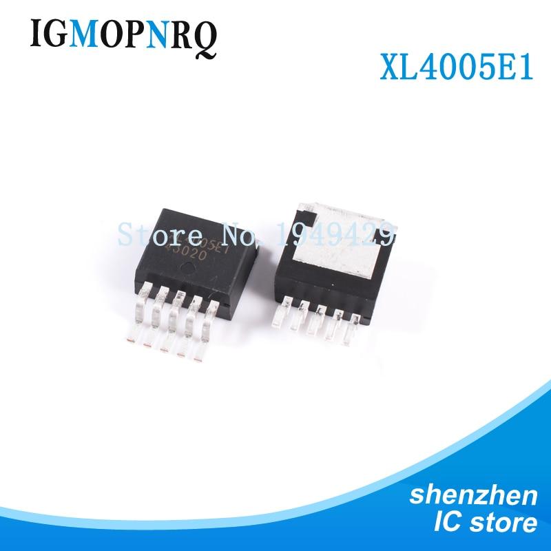 5PCS Original XL4005E1 XL4005 TO-263 32V//5A//300KHZ NEW