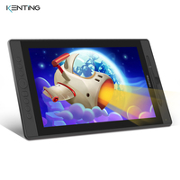 15.6 Inch Graphic Monitor Drawing Tablet with Screen Kenting KT16 8192 Levels Professional IPS HD Pen Display for Digital Art