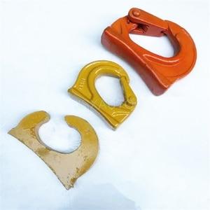Image 3 - Escavadeira gancho de soldagem de chapa de aço de elevação do gancho gancho acessórios da máquina escavadora do balde da escavadora
