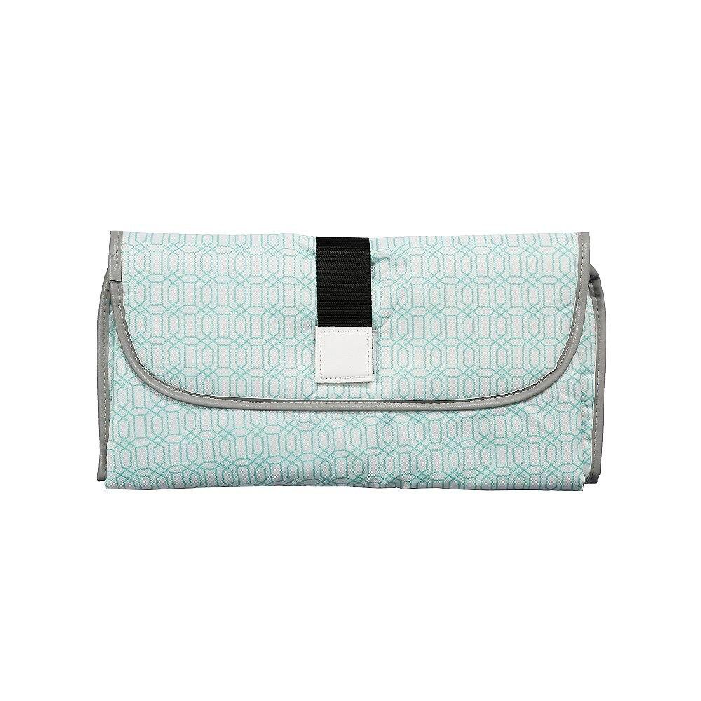 Новые 3 в 1 Водонепроницаемый пеленальный коврик пеленки мнчества, Портативный чехол для детских подгузников коврик чистой ручной складной сумка из узорчатой ткани - Цвет: CPD003