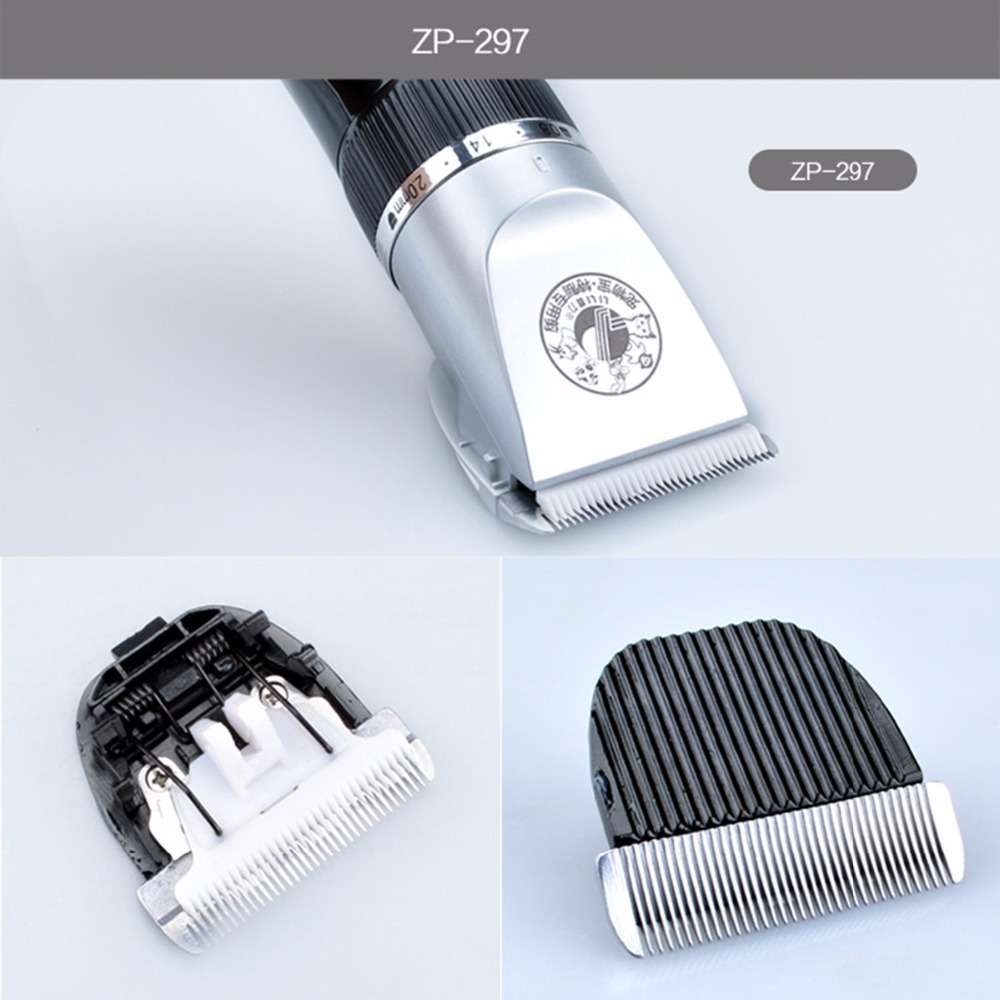 Original Electric font b Pet b font Dog Hair Trimmer Clipper Blade Head Animal Human Grooming