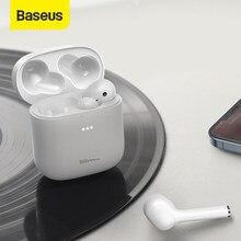 Baseus W06 Tws Bluetooth 5.0 Oortelefoon Aptx Draadloze Oordopjes Cvc Ruisonderdrukkende Ondersteuning Draadloos Opladen, 300H Levensduur Batterij