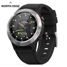 цена NorthEdge GPS Digital watch Hour Men Military wristwatch Pace Speed Distance Calorie Running Jogging Triathlon Hiking waterproof онлайн в 2017 году