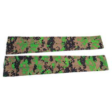 Arm-Sleeve Long-Gloves Cycling Sun-Protection Running Golf for Half-Finger Camouflage-Print