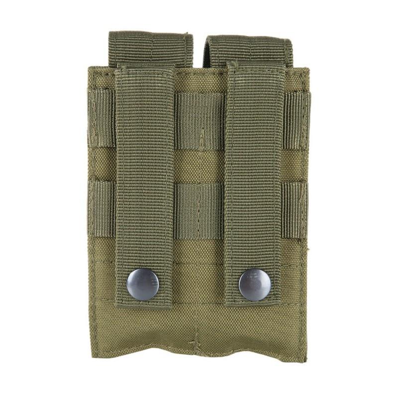 Pouch Pistol Molle Magazine Tactical Nylon 600D Dual Airsoft Pistol Mag Magazine