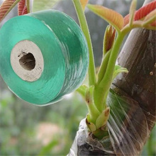 2 Rolls 100m Garden Grafting Tape Grafting Film Floral Stem For Garland Fruit Tree Stretchable Plant Grafting Membrane