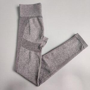 Image 3 - Nepoagym נשים 4th מהדורה להגמיש חלק חותלות יוגה מכנסיים ספורט כושר ספורט חותלות ספורט נשים מכנסיים יוגה חותלות