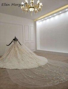 Image 4 - ปิดไหล่Gownsชุดแต่งงาน 2020 ซาอุดีอาระเบียความยาวเม็กซิกันVestido Novia Elegantชุดเจ้าสาวพร้อมVeils