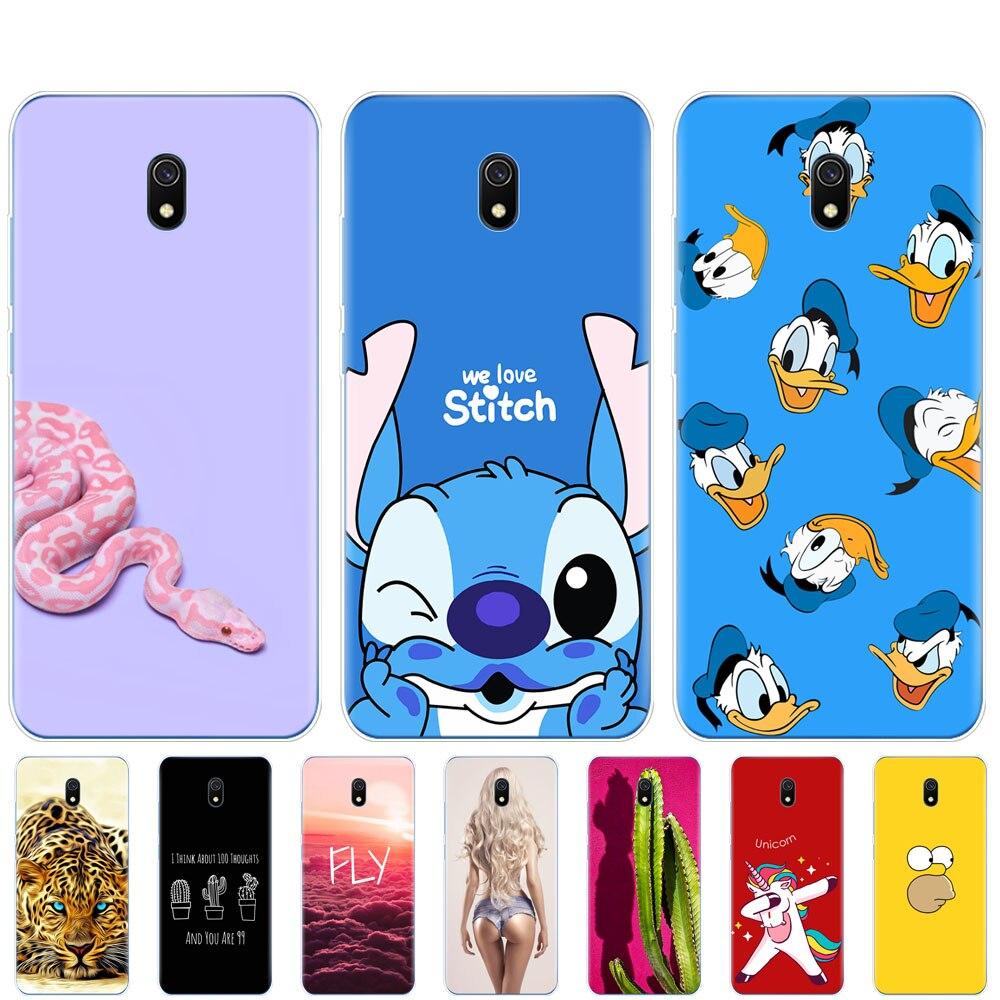 Case For Xiaomi Redmi 8a Case Coque Silicone Soft Tpu Cover For Redmi 8a Bumper Hongmi 8a Coque Full 360 Protective Shell Cute