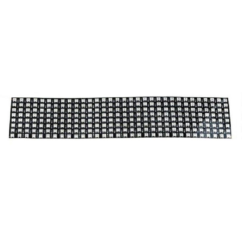 8X32 SK6812 WS2812B Addressable Flexible LED Panel Pixels Screen Digital Pixel Screen DC5V