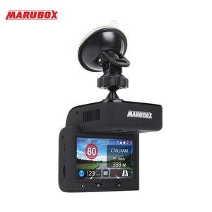 Image 2 - Marubox M700 samochodowy detektor radaru z podpisem Touch DVR GPS dla rosji 3 w 1 samochód anty radary policja prędkość Auto HD2304 * 1296P