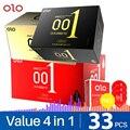 Презервативы OLO 001 из латекса премиум-класса Тонкие Силиконовые презервативы для мужчин Задержка эякуляции женские для продолжительного се...