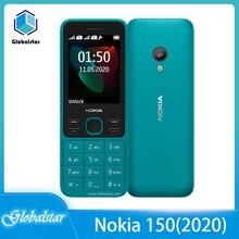 Nokia 150 GSM Refurbished Cheap Phone Unlocked Original 1020mah Dual-Sim