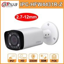 داهوا 4MP ليلة كاميرا DH IPC HFW4431R Z 2.7 12 مللي متر الميكانيكيه VF عدسة 80 M للرؤية الليلية POE رصاصة شبكة الأمن كاميرا