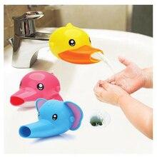 Смеситель-удлинитель с животным носиком, расширители, детское крепление для мытья рук на раковину, смесители для детей ясельного возраста, милый цвет