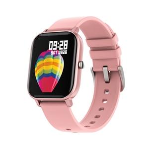 Image 5 - P8 montre intelligente hommes femmes Sport bracelet horloge moniteur de fréquence cardiaque moniteur de sommeil IP67 étanche Smartwatch tracker pour téléphone