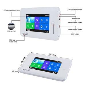 Image 5 - Awaywar نظام إنذار يدعم واي فاي و GSM لحماية المنزل الذكي لص متوافق مع Tuya IP Camrea