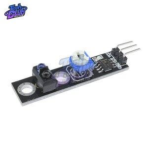 3, 3 v TCRT5000 инфракрасный отражающий Датчик ИК фотоэлектрический переключатель Барьерная линия трек модуль для Arduino Диодная триодная плата