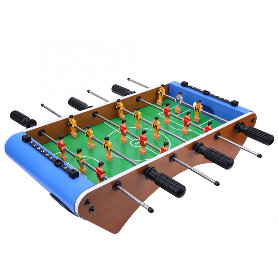 Table Football Soccer Game 6 Rods 9