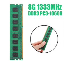 POHIKS PC Memory RAM Memoria Module Computer Desktop DDR3 8GB PC3 1333MHZ 10600 8G RAM for AMD PC Computer Desktop hot sell brand new for g skill ddr3 1600 2g 2 ram for desktop computer overclocking f3 12800cl9d 4gbxl