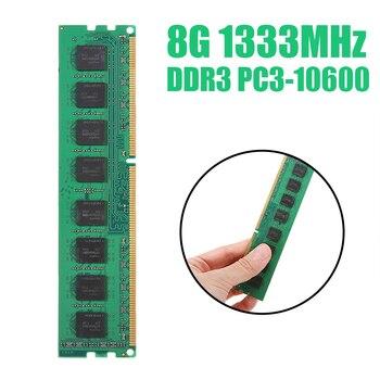 POHIKS PC Memory RAM Memoria Module Computer Desktop DDR3 8GB PC3 1333MHZ 10600 8G RAM for AMD PC Computer Desktop new sealed ddr3 1333mhz pc3 10600 8gb desktop ram memory full compatible ddr3 lifetime warranty