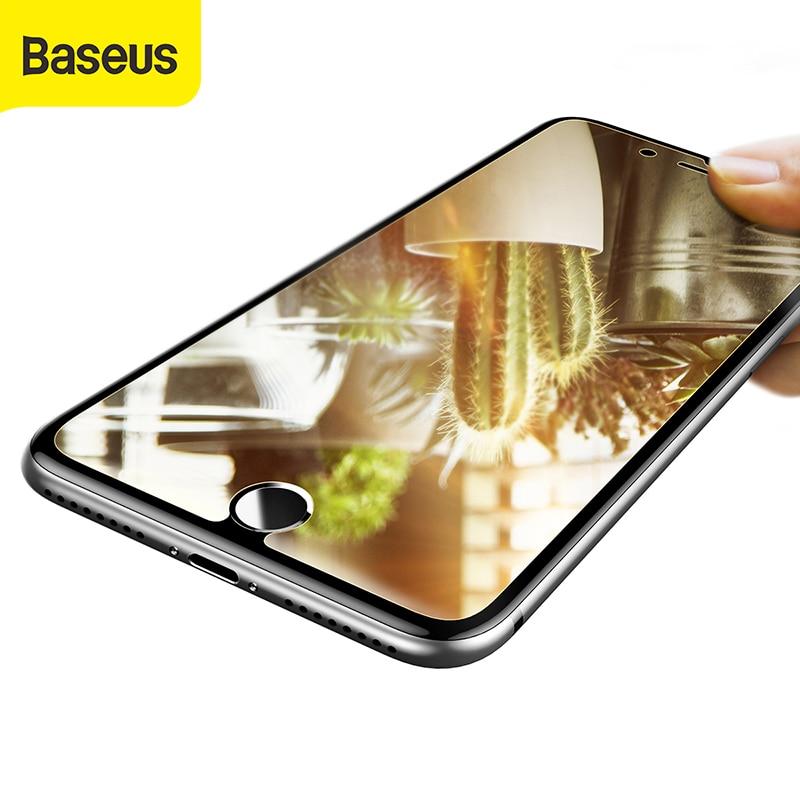 Baseus Mirror Skjermbeskytter For iPhone 7 herdet glass for iPhone 7 - Tilbehør og reservedeler til mobiltelefoner