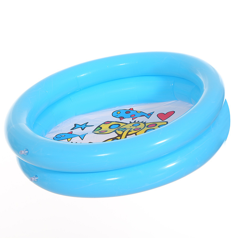 65*65cm Baby Swimming Pool Inflatable Bath Tub Round Lovely Animal Printed Bottom Child Summer Play Ball Pool Kid Water Toys