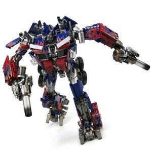 Image 4 - Com caixa de transformação wj mpm04 op optimus espadachim liga deformação crianças brinquedos figura ação robô crianças presentes