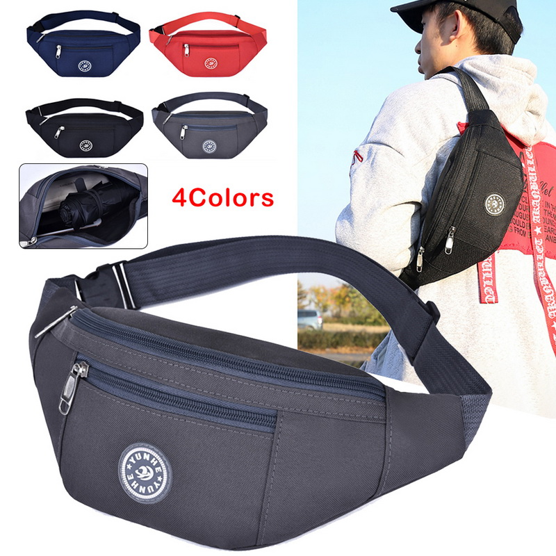Chest bag Nylon Waist Bag Women Belt Bag Men Fanny Pack Fashion Colorful Bum Bag Travel Purse Phone Pouch Pocket hip bag 2