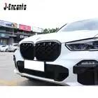 Пара новых ромбовидных фасонных решеток для BMW New X5 G05 Решетка переднего бампера Стайлинг автомобильной решетки 2019 - 1