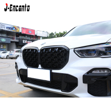 A pair New diamond style Front Kidney Grille For BMW new X5 G05  Bumper Grill Car Styling 2019
