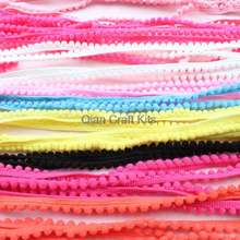 50 ярдов смешанные цвета крошечные pom отделка (pom размер 5