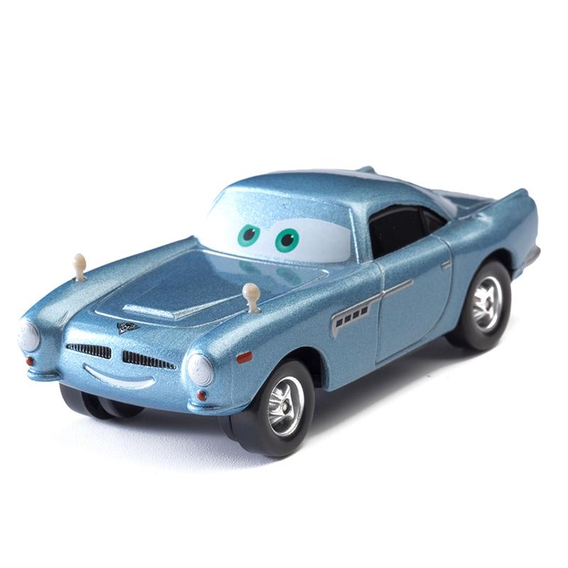 Cars Disney Pixar Cars  3 Role Mc.Missile Lightning McQueen Jackson Storm Mater 1:55 Diecast Metal Alloy Model Car Toy Kids Gift