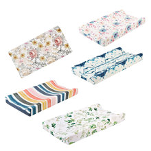 Cover Mattress Changing-Mat Diaper Baby Cradle Fabric Stretchy Infant