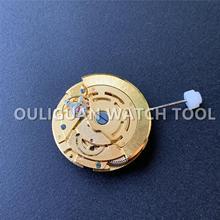 Золотые механические Автоматические часы замена движения календарь дисплей часы Ремонт частей для 2813 8205 часы движение часов