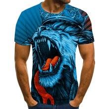 2020 novas camisetas masculinas e femininas diversão 3d impresso t-shirts selvagem casual t-shirts de manga curta meninos meninas crianças topos