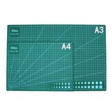 A3/A4PVC прямоугольные линии сетки режущий коврик инструмент пластиковая разделочная доска коврик двухсторонний режущий коврик ремесло DIY режущие инструменты
