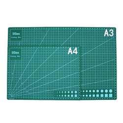 A3 ПВХ прямоугольные линии сетки режущий коврик инструмент пластиковые инструменты для рисования 45 см * 30 см