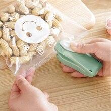 1 Uds Mini sellador portátil para el hogar sellador al vacío de alimentos sellador térmico taponadora de alimentos para bolsas de plástico artefacto Mini