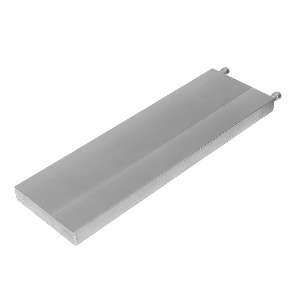 80x250x15mm Aluminum Water Cooling Block For CPU Semiconductor Cooling Radiator Heatsink